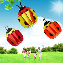 140Cm Ladybug Single Line Stunt Software Power Kite Inflatable And Easy To Fly TD0082