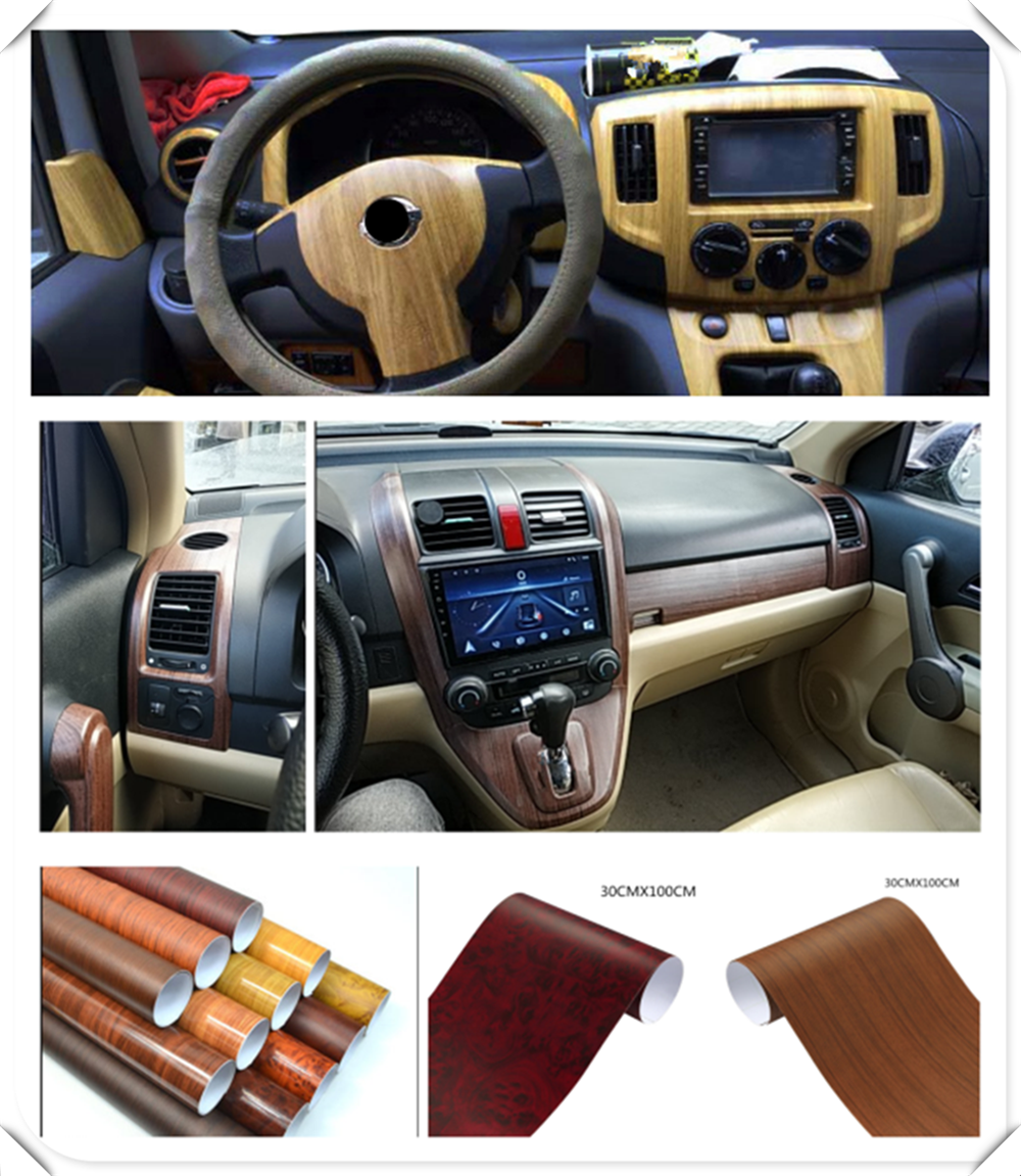 High quality 30 * 100CM auto vinyl film car shape decorative stickers for Renault Alaskan Trezor Talisman Kwid Espace Kangoo