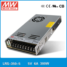 Original MEAN WELL LRS-350-5 300W 60A 5V output Meanwell Switch mode power supply 5V 300W SMPS ac to dc(China)