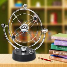 Kinetic Orbital Revolving Gadget Perpetual Motion Desk Art Toy Office Decoration