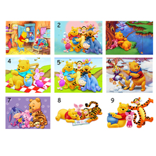 Winnie the Pooh Diy Diamond Painting Full Square Drill Resin Painting Pasted Embroidery Pattern Cross Stitch Kits