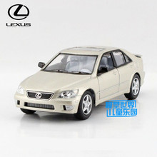 Free Shipping/1:36 Scale/Lexus IS300/Classical Educational Model/Pull back Diecast Metal toy car/For Collection/Gift
