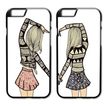 We Are Best Friends Forever Case for iPhone 4 4S 5 5S 5C SE 6 6S 7 Plus Samsung Galaxy S3 S4 S5 Mini S6 S7 S8 Edge Plus A3 A5 A7(China)