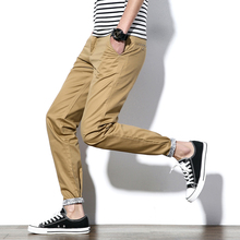 2017 casual pants men brand clothing quality spring long elastic male trousers big size 5XL military sale new for pioneer camp