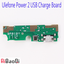 AiBaoQi New Original usb plug charge board For Ulefone Power 2 Mobile Phone Flex Cables charging module cell phone Mini USB Port(China)