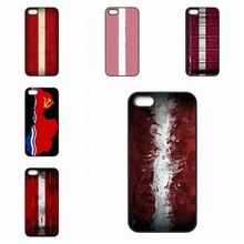 Latvia Flag For Apple iPhone 4 4S 5 5C SE 6 6S Plus 4.7 5.5 iPod Touch 4 5 6 case Accessories