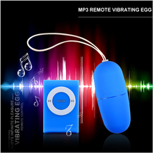 20 Modes MP3 Remote Vibrating Egg, Remote Control Bullet Vibrator, Sex Products, Wireless Egg Vibrator, Adult Sex Toys for Woman(China)