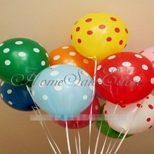 10pcs Polka Dot Latex Balloon Party Wedding Holiday Favor Decorating