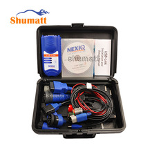 NEXIQ 125032 USB LINK Diesel Heavy Duty Truck Diagnostic Scanner Repair Tool With Full Set Apapter Connectors+ 4CD Software+Box