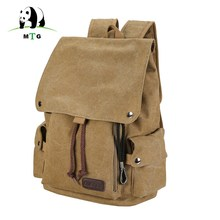 Men's and Women's Backpack Vintage Canvas Backpack Schoolbag Male Travel Bags Large Capacity school Bag Leisure Shoulder Mochila(China)