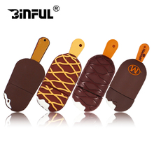 Crazy hot food model USB flash drive cute chocolate model pen drive 4gb 8gb 16gb 32gb 64gb pendriver thumb drive(China)