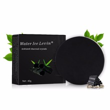 Bamboo Charcoal Handmade Soap Skin Whitening Soap blackhead Remover Acne Treatment Face Water Grease Balancing Face Cleanser Top(China)
