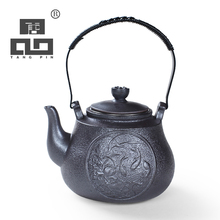 TANGPIN big capacity black crockery ceramic teapot with infuser japanese tea pot set coffee pot drinkware japanese tea set