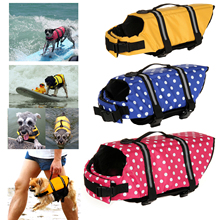 Pet Dog Save Life Jackets Safety Clothes Life Vest Outward Saver Pet Dog Swimming Preserver Large Dog Clothes Summer Swimwear