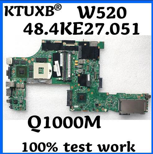 For Lenovo Thinkpad W520 Nvidia with Q1 Q1000M Motherboard 04W2028 04W2036 LKN-3