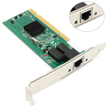 Wholesale Universal Gigabit Ethernet LAN Low Profile PCI Network Controller Card Module 10/100/1000M DIY Board Replacement Pro