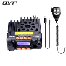 qyt kt-8900 kt8900 vhf uhf mobile radio transceiver kt8900 mini car bus army mobile vhf two way radio station+usb cd