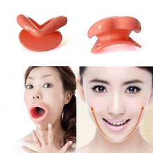 slimmer massage muscle Face Slim Exerciser Muscle Lips Trainer Tightener Face-lift Slimmer Massage Silicone Rubber Anti-Wrinkle(China)