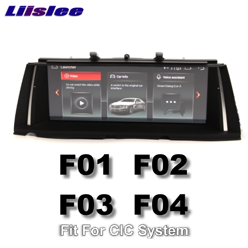 For BMW 7 F01 F02 F03 F04 2008~2012 LiisLee Multimedia GPS Audio Hi-Fi Radio Stereo Original Style For CIC System Navigation 11