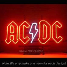 AC/DC AC DC Pinball Neon Light Sign Decorate Glass Tube Neon Bulbs Recreation Room Garage Sign Neon Sign Store Display VD17x14