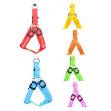 New Import From China 6 Colors LED Strap Collar Lighted Up Nylon Safty Loss Prevention Products For Pets Collares Para Perros(China)