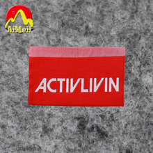 Free Design & Free Shipping Customize 500pcs/lot Outdoor sports clothing labels/garment labels / woven label/ main label SPO006(China)