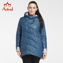Astrid 2017 Winter Woman Jacket Professional Plus Size Brand Spring Women Coat Big Size Winter Jackets Woman Large Size AM-2682(China)