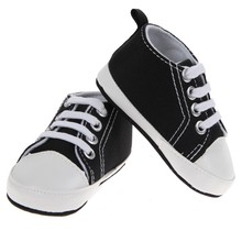 Baby Sneakers Baby Girl Boy White and Black Shoes Boy&Girl Sports Shoes Sneakers Sapatos Baby Infant First Walkers