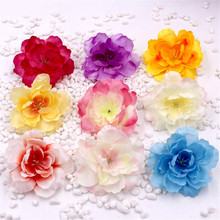 5pcs Spring Silk Gradient Orchid Artificial Flower For Wedding Home Decoration Orchis Mariage Flores Cymbidium Flowers Plants(China)