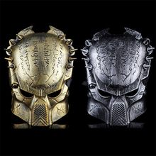 3pcs Special Golden Silvery Movie Predator Mask Halloween Costume Mask, JSF-Masks-019(China)