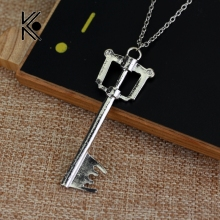 Free Shipping Kingdom Hearts Keyblade Metal Necklace Game Jewelry Accessories Figure Cosplay Toy Gift