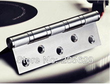 Free Shipping, ball bearing hinge, 5inch*3.5inch*3mm, stainless steel Hinges for timber door Hinge, no noise, long life