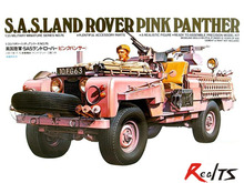 "RealTS TAMIYA 35076 1:35 British S.A.S special forces ""Pink Panther"" off-road vehicle model"