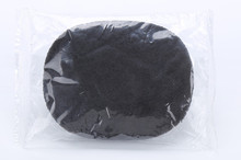 3 pcs /lot   Hot Sale Soft Natural Black Bamboo Sponge Beauty Facial Wash Cleaning Cosmetic Puff Charcoal black
