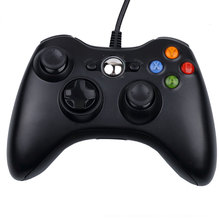 Newest !! High Standard Fashion Design Useful USB Wired USB Game Controller Joystick Gamepad For PC Laptop Computer