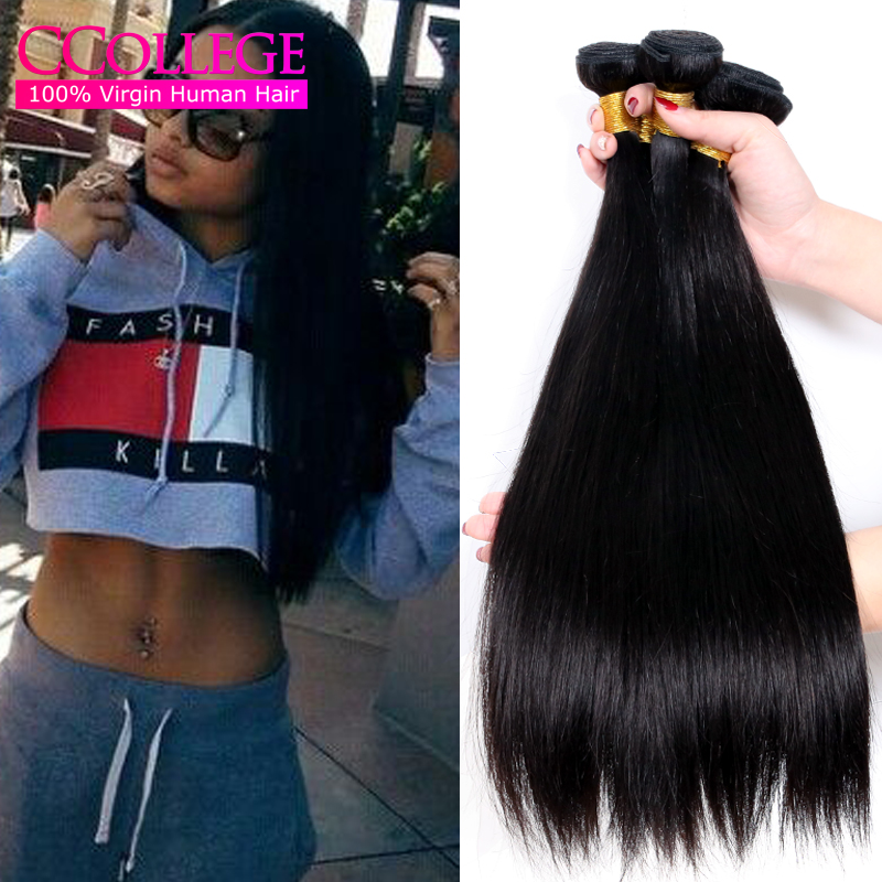 Brazilian Human Hair Straight 4 Bundles Cheap Straight Brazillian Hair Bundles Brazilian Straight Hair Weave Bundles Virgin Sale<br><br>Aliexpress