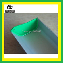 "Length=35cm(14"") TJ Aluminium Emulsion Scoop Coater For Screen Printing With Ears"