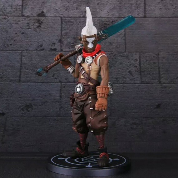 New game  FIGURE Ekko The Boy Who Shattered Time pvc action figure collectible model toys doll anime garage Kit Brinquedos<br><br>Aliexpress