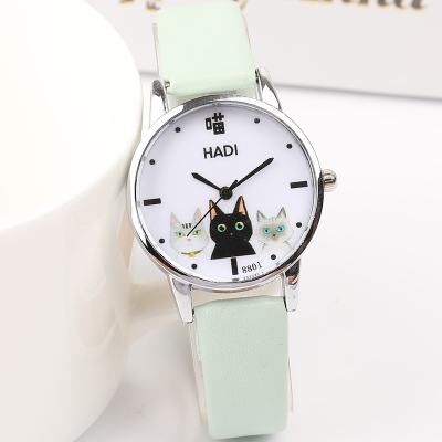 Japanese small fresh girl child wild watch female Korean version of the simple Harajuku cute middle school students soft gi 3