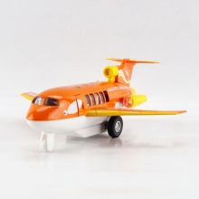 Freeshipping Children Dolphin Air Lines Bus diecast Metal Plane Toy Sound & Flashing & Pull Back Present Kids Gift