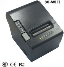 High Speed 300mm/second Wirelss POS Thermal receipt printer 80mm Wifi printer Auto Cutter _DHL