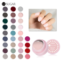 UR SUGAR 5ml UV Nail Gel Set Nude Grey Red Series Color Coat UV & LED Soak Off Nail Art Decoration Manicure Varnish(China)