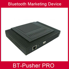 BT-Pusher bluetooth mobiles proximity marketing device with 4800maH battery and car charger zero cost advertising your business