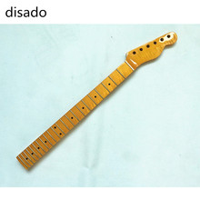 disado 22 Frets One Piece Tiger flame maple Electric Guitar Neck Guitar Parts Musical instruments accessories can be customized