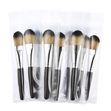 1pcs maquiagem foundation makeup brushes wood handle nylon hair cosmetic brush set professional make up brush Kit set BP047