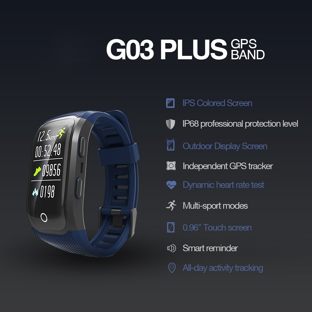 GPS Smart Band with Heart Rate Tracker 1