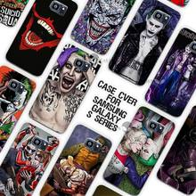 Hero Joker and Harley Quinn Clear Case Cover Coque Shell for Samsung Galaxy S3 S4 S5 Mini S6 S7 Edge Plus