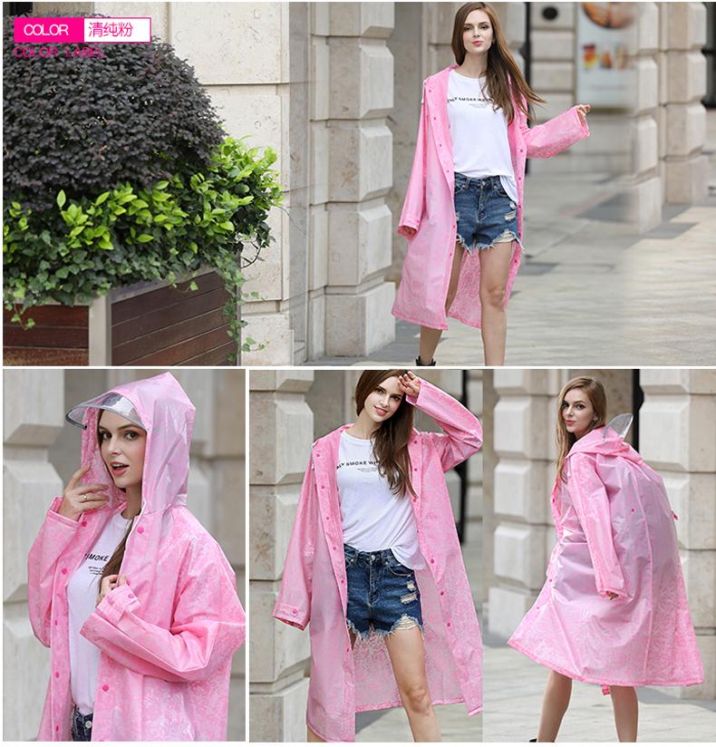 Women Lace Raincoats 13