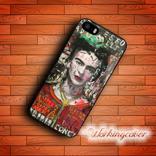 Fundas Frida Kahlo Cool Design Case for iPhone 7 6S 6 5S SE 5 5C 4S 4 Plus Case Cover for iPod Touch 6 5 Case.
