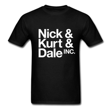 Men's O-Neck Short Funny T Shirt Nick Kurt Dale  Brand Clothing Mens t-shirt New Round Collar  Mens T Shirts Make Your Own Shirt